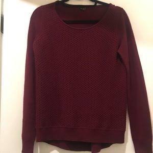 Theory maroon sweater